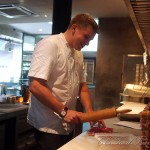Dish and it's spanking new Chef Steve Allen