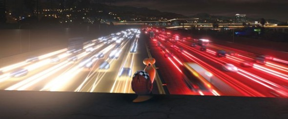 """Theo """"Turbo"""" above the freeway"""