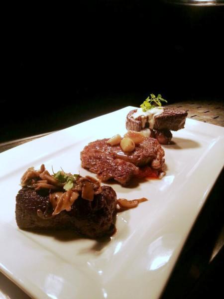 The Sampling Steak Platter