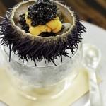 Waku Ghin - Marinated Botan Shrimp with Sea Urchin and Caviar