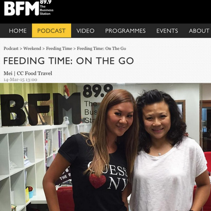 CCFOODTRAVEL, Malaysia's Top Food & Travel Blog, is Interviewed on BFM!